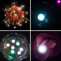 Wholesale 12Pcs Multi colors LED Berry Lights Romantic Wedding Christmas Party Decorations Pearls Balloons Decor Supplies Wholesales FSD