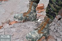 acu military boots - Outdoor Combat boots Summer Tactical boots ACU Camouflage military boots