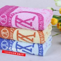 Wholesale 30x70CM quot x27 quot Print VL Microfiber Car Cleaning Towel Microfibre Detailing Polishing Scrubing Waxing Cloth Hand Towel