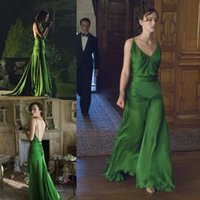 atonement green dress - Lovely green dress on keira knightley from the movie atonement designed by jacqueline durran long celebrity dress