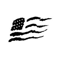 american car window flag - Car Stickers American Flag United States Car Truck Window Bumper Laptop Locker Vinyl Decal Sticker