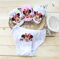 Wholesale Fashion Baby Girls Fashion Underwear Kids Cute Cartoon Panties Children Soft Cotton p l