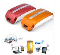 Wholesale Mini Mbps G WIFI Mobile Wireless Router Hotspot mAh Powerbank AP