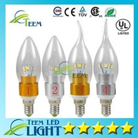 Wholesale Cheapest W W SMD5730 LED Candle bulb E14 E27 light lamp high power led downlight led lamps chandelier lighting V CE ROHS X30