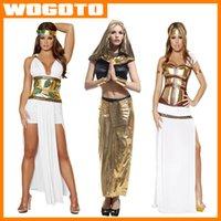 Disfraces de Halloween vestido de Cleopatra Halloween Costume Sexy ropa de Halloween de Halloween egipcia Hombres Ropa para adultos