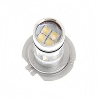 Wholesale White H7 W High Power COB LED Car Auto DRL Driving Fog Tail Headlight Light Lamp Bulb