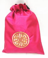 Wholesale customized satin silk cotton bags with drawstrings Min order pieces