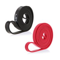 Wholesale Fitness Equipment Natural Latex Resistance Bands Exercise Loop Rope for Bodybulding Exercise CrossFit Yoga Exercise