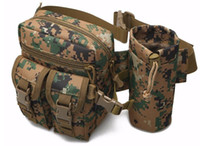 military equipment - Tactical pouch edc bag military molle utility pouch fishing waist packs D kettle bag tactical military equipment accessories