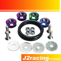 Wholesale J2 STORE NEO CHROME Quick Release Fasteners are ideal for front bumpers rear bumpers and trunk hatch lids PQY QRF91CR