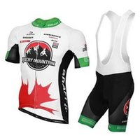 bicycle canada - 2015 Brand New Rocky Mountain Canada Team Summer Cycling Jerseys Sets Short Sleeves Bibs Shorts Cycling Clothes Comfortable Bicycle Clothes