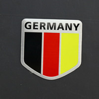 brabus - Car Styling D Aluminum Germany Map Flag Car Sticker Decal For Volkswagen BMW Benz Audi Porsche Maybach OPEL Trabant ALPINA BRABUS Carlsson