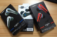 Wholesale Professional Mini mini SMS Street by Cent Street with MIC and Volume Control Earphones for MP3 Player iPhone