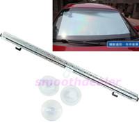 Wholesale 1SET Silver Car Auto Window Roll Blind Sunshade Windshield Sun Shield Visor x125cm order lt no track