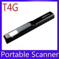 Wholesale Portable High Speed A4 Document scanners T4G For Book ID Card MOQ