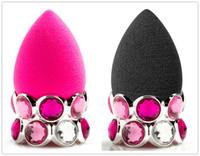 bb rings - Bling Ring BB Original Beauty Pink Sponge Latex Free Foundation Powder Blender Makeup Applicator Kit Tools DHL