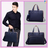 playboy bags - Playboy k02 Brand leather handbags Luxury Genuine cowskin business bags High quality briefcase for men MBJ001073C