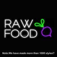 best bar foods - Raw Food Neon Sign Neon Bulbs Recreation Room Garage Real Glass Tube Handcraft Best Gifts Beer Bar Pub Store Display x14