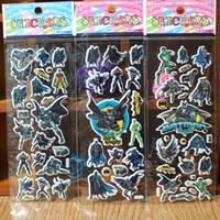 Wholesale Batman Cartoon Children Sticker Puzzle Enlightenment Princess Big Hero DOC Baby Birthday Party Gift Sticker Toys