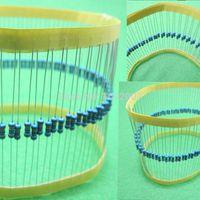 1000 PC 2KOhm Resistencia Metal Film Resistor 0.25W 1% ROHS 1 / 4W +/- 1% (200pcs / lot) por mayor Componentes pasivos calientes