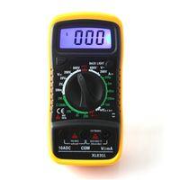 amp resistance - New XL830L Digital Multimeter Portable Multi Meter AC DC Voltage Amp Meter Resistance Tester Blue Backlight