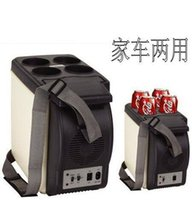 used refrigerators - 6 liters car refrigerator portable electronic mini car fridge used for home and vehicle heat and cold use