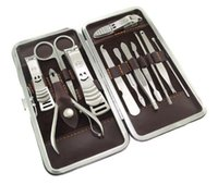 Wholesale FAST SHIPPING SET in Nail Clipper Kit Nail Care Set Pedicure Ear pick Utility Stainless Steel Manicure Set Tools