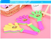 Wholesale Cheerleaders cheer hand clappers noisemaker kids toys favors nip fun party favors party toys