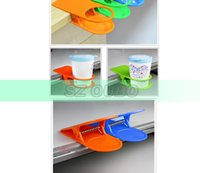 Wholesale high quality Table Glass Cup Clip Drinklip Cup Holder Space Saving Glass Holder DHL