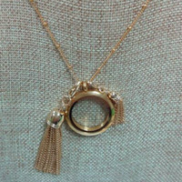 origami owl - 2015 New Design Alloy Gold Tassel Dangle instantly dresses up any Origami Owl Locket for Xmas Gift