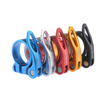 Wholesale 5 colors mountain road mountain bike bicycle quick release seat post mm aluminum beam tube clamp