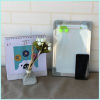 Wholesale Free accessories Double sided magnetic white board cm hanging alum frame Dry wipe whiteboard Factory direct