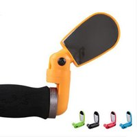 Wholesale Bike bicycle rear view mirror classic cycling reflector handlebar end rearview mirror bicycle parts