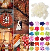 Wholesale 100 pc Various Multi Colors Silk Rose Petal Flower Confetti Engagement Celebration Wedding Decoration Décor