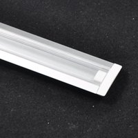 aluminum u channel - cm length waterproof U Channel aluminum slot with Transparent Cover for v led strip bar rigid bulb light outdoor