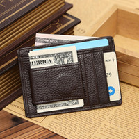 Wholesale Faux Leather Man Wallets Multifunction Card ID Holder Portable Credit Card Holder Male Short Wallets Gifts ZC0091 Bagseller2010