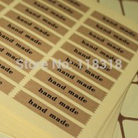 Wholesale Min Order is CM DIY Scrapbooking Kraft Paper Hand Made Labels Envelopes Stickers handmade Seals Sticker