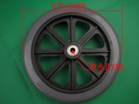 Wholesale 8 inch front wheels wheelchair wheels wheelchair front wheels PVC front wheel folding wheelchairs CE FDA