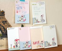 Wholesale NEW cute little red girl Notepad Memo pad notebook Gift