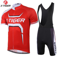 bicycle fork sizes - X Tiger Brand Speed Fork Pro Cycling jerseys Breathable Bike Jerseys With Quick Dry Bicycle Cycle Bib Pants For Man Women
