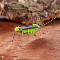 Wholesale mini solar grasshopper bugs Novelty toys gifts by EXPRESS