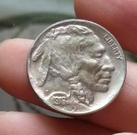 Wholesale HOT SELLING S D PC Indian Head or Buffalo Five Cents Nickels Coins FOR COLLCTION ONLY