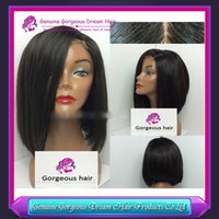 custom made full lace wig - CUSTOM MADE JENNIFER BRAZILIAN SILKY STRAIGHT ASYMETRICAL BOB FULL LACE WIG FRONT LACE UNPROCESSED VIRGIN HAIR