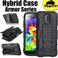 Wholesale Iphone S Plus Future Armor Impact Hybrid Hard Case Cover Belt Clip Holster Kickstand Combo For Samsung S6 edge Note G4