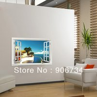 beach room accessories - Beautiful Home Accessories Beach Style Design Stickers Removable Wall Stickers Bedroom and Living Room