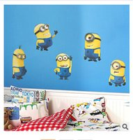Wholesale Despicable Me Giant Peel And Stick Giant Wall Decals high quality cartoon wall sticker wall stickers home decor m410