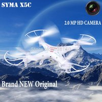 large rc helicopter - 100 New SYMA X5C remote control toys Large scale G CH RC Helicopter UFO Quadrocopter drone with MP HD camera boys toy