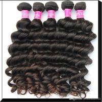 russian hair - Malaysian Peruvian Brazilian Indian hair extensions Natural Wave Original hair A grade human Hair A