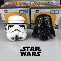 ceramics and pottery - Star Wars Darth Vader and the white knight ceramic lovers cup creative personality birthday gift Star Wars Rebels mug3D