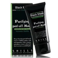 Wholesale 1 Hot Selling ml SHILLS Deep Cleansing purifying peel off Black mud Facail face mask Remove blackhead facial mask Smooth Skin Shills Masks